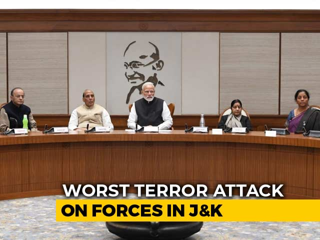 Video : After 40 Soldiers Killed In Kashmir Terror, PM's Security Meet