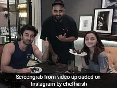 Bet Your Valentine's Day Dinner Was Nothing Like Alia Bhatt And Ranbir Kapoor's. See Pic