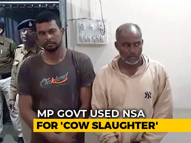 Video : National Security Act Against 3 Cow Slaughter Accused In Madhya Pradesh