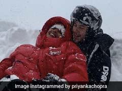 Inside Priyanka Chopra And Nick Jonas' Snowy Super Bowl Sunday. Brrr...