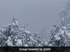 Heavy Snowfall In Nainital Triggers Landslide In Naina Peak