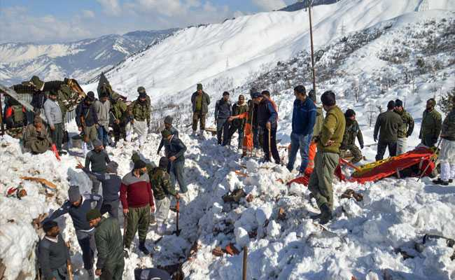 Body Of Cop Missing In Kulgam Avalanche Found, Number Of Dead Rises To 8