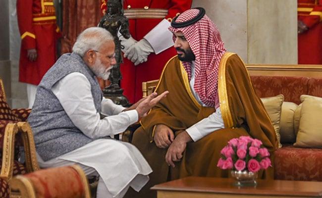 Putra Mahkota Saudi Dapat Pelukan Hangat Dari PM India, Setujui Investasi $100 M