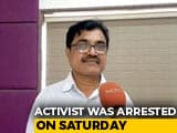"Video : ""It Was Humiliating"": Activist Anand Teltumbde On His Arrest By Pune Police"