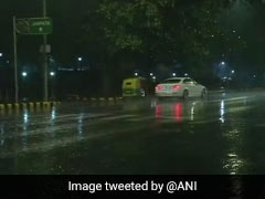 """Light Showers In Parts Of Delhi, Air Quality Remains """"Poor"""""""