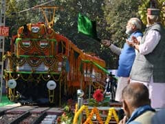 PM Flags Off The World's First Diesel To Electric Locomotive In Varanasi