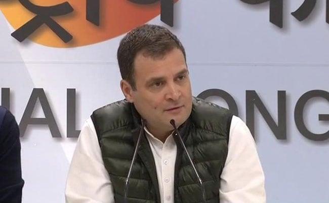 Rahul Gandhi To Offer Worship At Tirupati, Address Rally On Friday