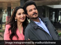 <i>Total Dhamaal</i>: This Pic Of Madhuri Dixit And Anil Kapoor Is All About '<i>Thodi Masti, Thoda Magic</i>'