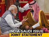 Video : PM Modi, Saudi Prince Condemn Pulwama Attack In Joint Statement