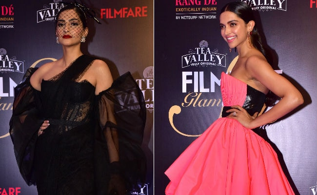 Deepika Padukone, Sonam Kapoor Are Filmfare's Most Glam And Most Stylish. See Pics