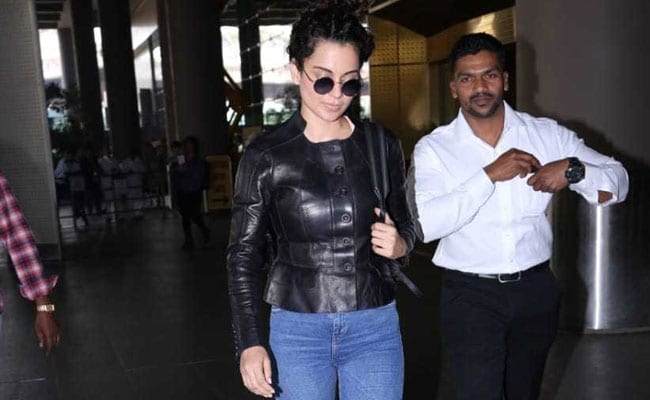 Kangana Ranaut Nails The Style Game In A Leather Top. Get Her Look