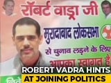 "Video : ""Welcome To Contest"" Posters In UP For Robert Vadra After He Drops Hint"