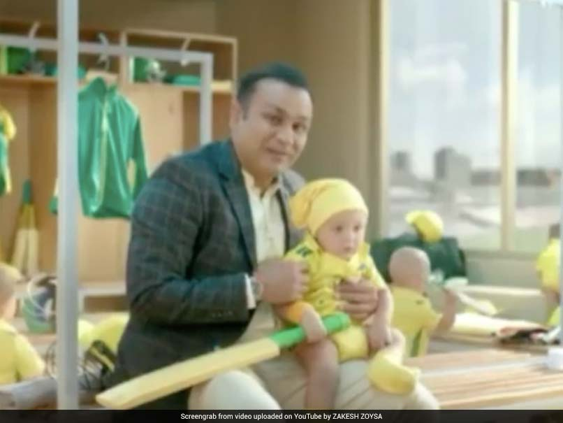 India vs Australia: Virender Sehwag turns babysitter in hilarious ad