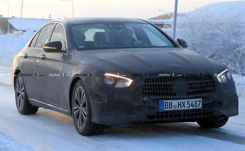 The new Mercedes-Benz E-Class facelift will get an updated front.