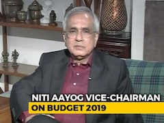 Video: NITI Ayog Vice Chairman On 'Missing' Jobs Report