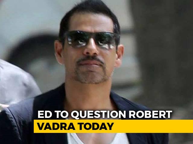 Video : BJP Slams Congress Over Robert Vadra's Summons By Enforcement Directorate