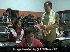 UP Board Exam 2019: Uttar Pradesh Tightens Surveillance, Minister Conducts Surprise Inspection
