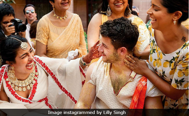 Priyanka Chopra Told Friends 'No Mercy On Nick Jonas' During Haldi, Reveals Lilly Singh