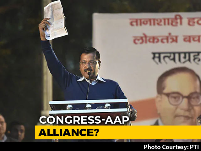"Video : ""Tired Of Convincing Congress"": Arvind Kejriwal On Alliance In Delhi"