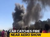 Video : 100 Vehicles On Fire Near Bengaluru Air Show, Cigarette Could Be Cause