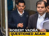 Video: Robert Vadra Questioned For Third Time In Money Laundering Case