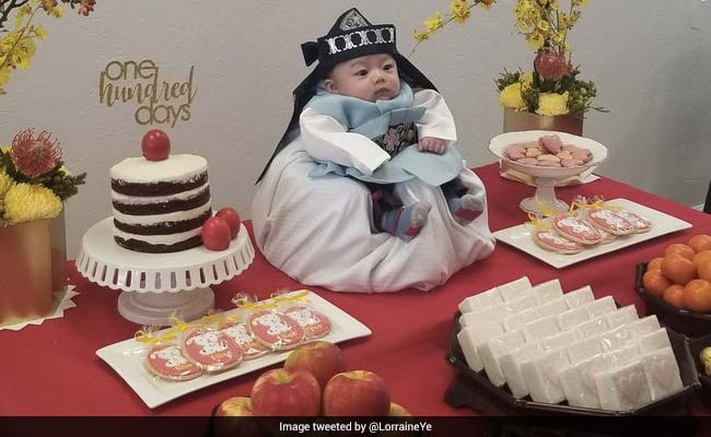 This 100-Day-Old Baby Has Been Crowned King By Internet For His Adorable Pics