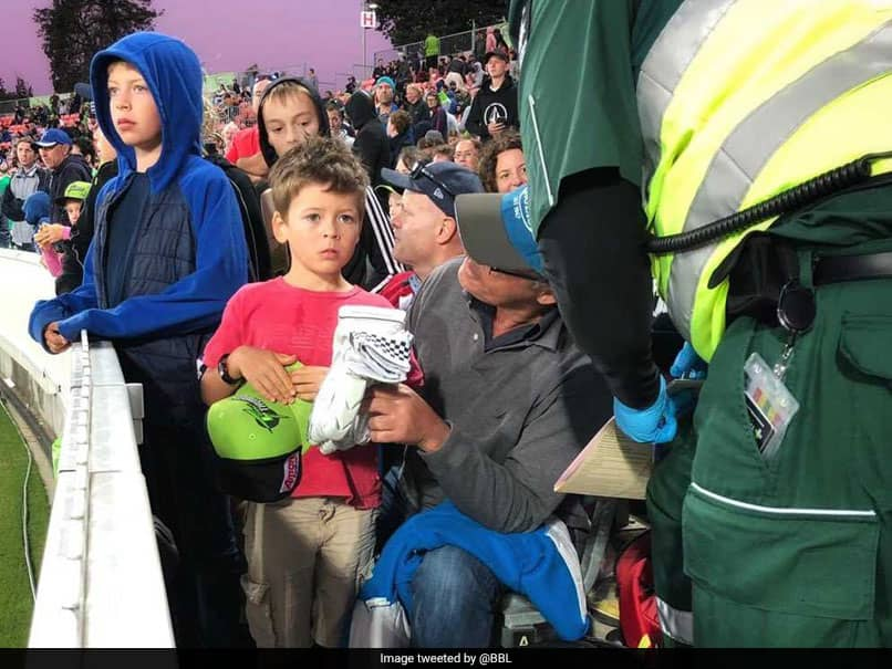 George Bailey, Daniel Sams Brilliant Gesture For Young Fan Struck By Ball Wins Over Twitter