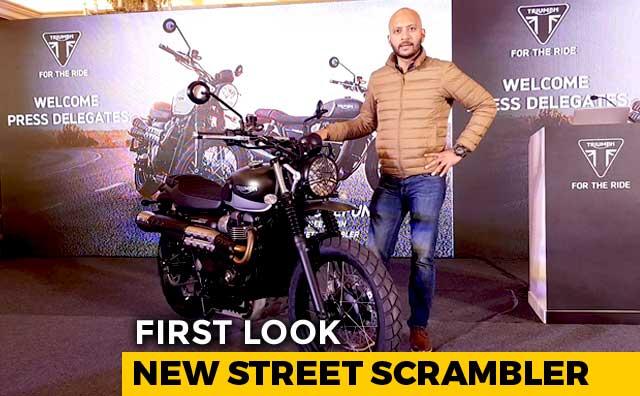 Video : 2019 Triumph Street Scrambler First Look
