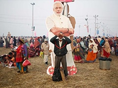 As Election Looms, Politics Infiltrates Kumbh Mela
