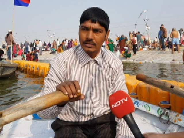Video : The Journey Of Boatman Raju Nishad At Kumbh 2019