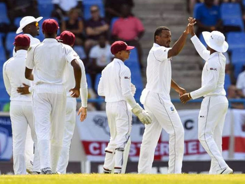 2nd Test, Day 1: Windies On Top As England Collapse Again
