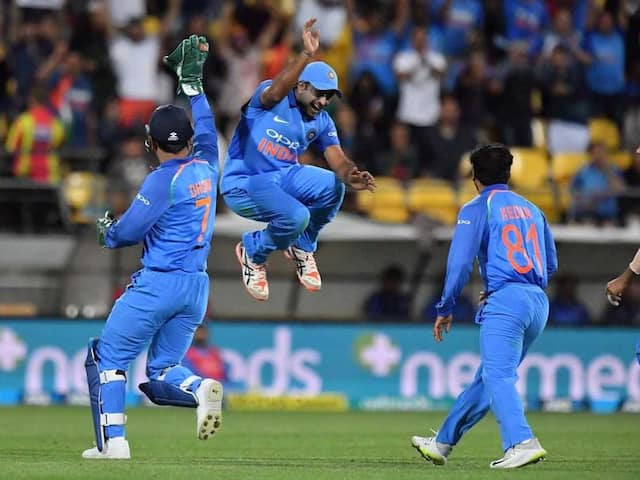 India Become 3rd Team To Achieve This ODI Feat In New Zealand