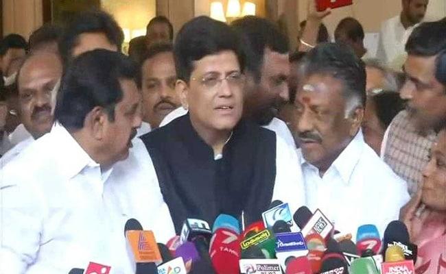 लोकसभा चुनाव के लिए भाजपा और AIADMK ने मिलाया हाथ, 5 सीटों पर लड़ेगी भारतीय जनता पार्टी