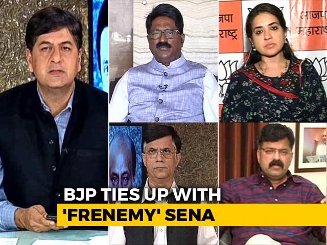 Video : Despite Sena Flak, BJP Closes Deal