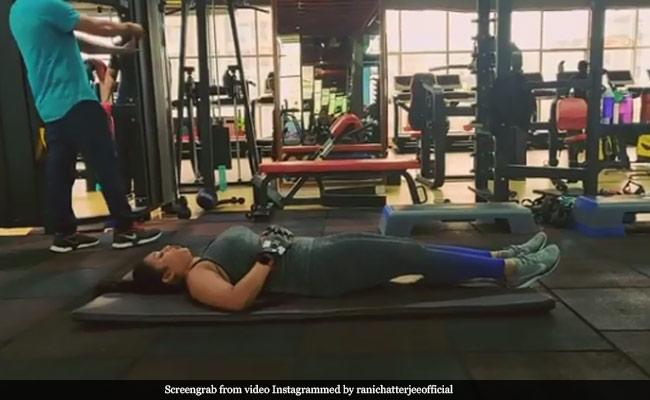 Bhojpuri एक्ट्रेस रानी चटर्जी ने जिम में कुछ यूं की एक्सरसाइज, Video हो रहा वायरल