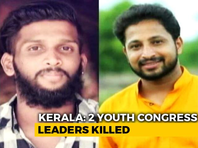 Video : 2 Youth Congress Workers Hacked To Death In Kerala: Police