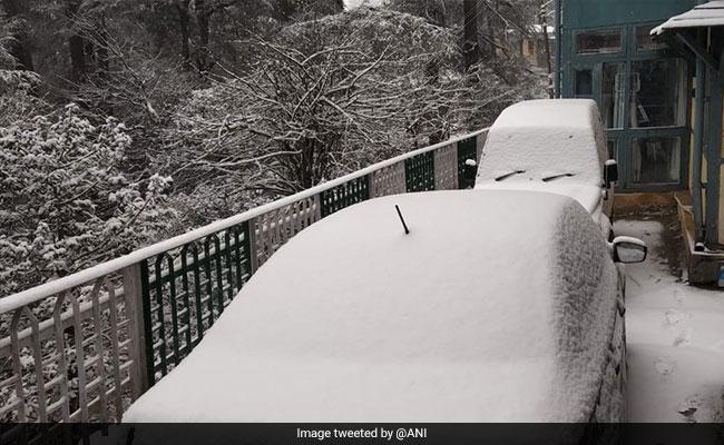 Schools Shut In Himachal Pradesh's Shimla, Kinnaur Due To Snowfall