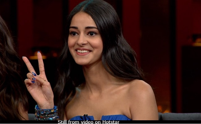 Ananya Panday Is 'Enjoying' Memes On Her Koffee With Karan Expressions