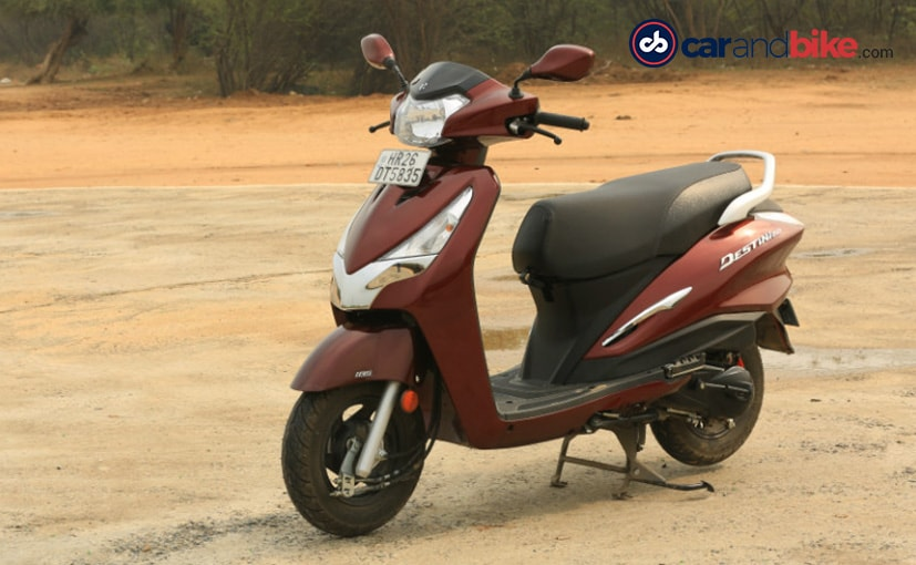 BS6 Hero Destini 125 Prices Hiked By Up To Rs. 1,300