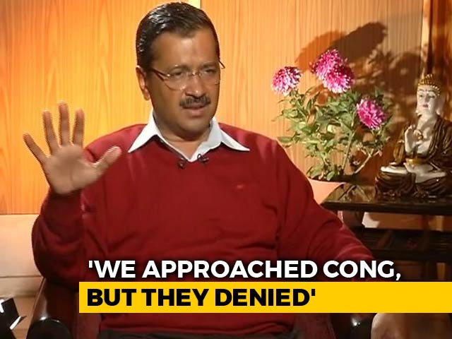 Video : Preparing To Contest Delhi In Lok Sabha Polls Alone, Arvind Kejriwal Tells NDTV