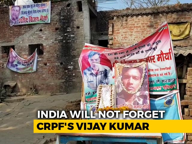 Video : Angry, But War Not Solution: Brother Of CRPF Soldier Killed In Pulwama