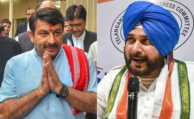 The Kapil Sharma Show में नवजोत सिंह सिद्धू ने मनोज तिवारी को दिया जवाब, बोले- जो कुछ गड़बड़ है 2019 के बाद सही हो जाएगा