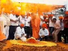 Balloon Explosion Caught On Camera, Narrow Escape For Karnataka Mutt Head