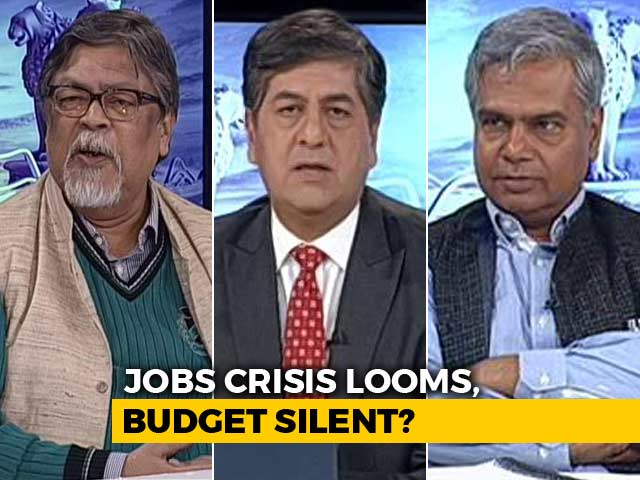 Video : 'Election' Budget: Silent On Jobs?