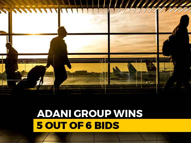 Video : Adani Group Wins Bid To Operate 5 Of 6 Airports: Official