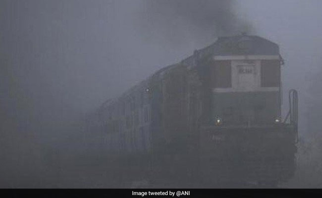 Dense Fog Delays 24 Trains, Homeless Take Refuge In Night Shelters