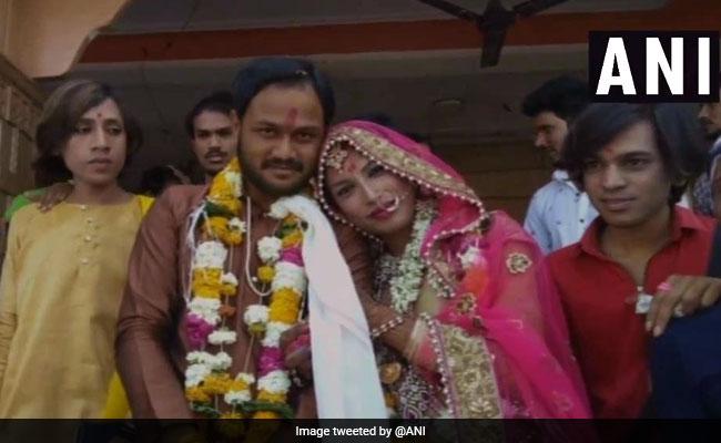 Man Marries Transgender In Madhya Pradesh On Valentine's Day