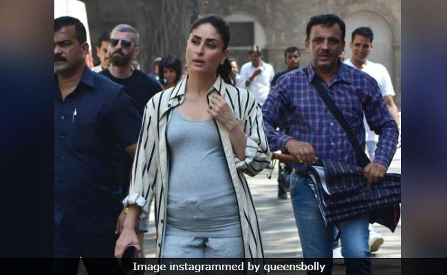 Trending: Kareena Kapoor Shoots For Good News With 'Baby Bump' In Mumbai