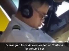Pilot Filmed Sleeping In Cockpit, Punished After Video Is Viral