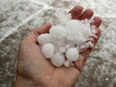मध्यप्रदेश में कई स्थानों पर बेमौसम बारिश, ओला वृष्टि भी हुई